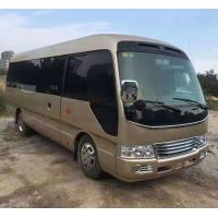 China LHD RHD Japan Used Coaster Bus 26 Seats 2011 Year 6990x2025x2585mm L*W*H on sale