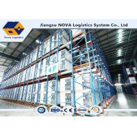 China Pallet Radio Shuttle Racking Automated Systems wholesale
