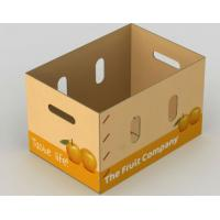 Quality White Paper Corrugated Packaging Boxes Custom Logo Corrugated Cardboard Boxes for sale