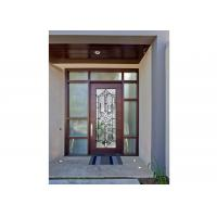 China Sidelight Glass Panels , Architectural Decorative Door Glass Panels  Glass Cabinet wholesale