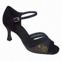 China Cheap Dance Shoes in Latin Style, Ideal for Ladies, with PU Upper wholesale
