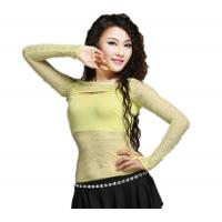 China Girl Soft Pink Lace Belly Dancing Bra Tops , Sexy  Belly Dance Bolero on sale
