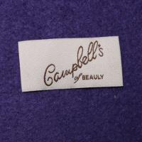 China Iron On White Woven Custom Clothing Labels 100% Cotton Label For Kids Garment wholesale