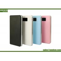 China Ultra Thin 8000mah Lcd Display Power Bank And Usb Chargers For Cell Phones wholesale