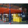 China Piso de entresuelo resistente de la estructura de acero para el estante del almacenamiento de Warehouse apoyado wholesale