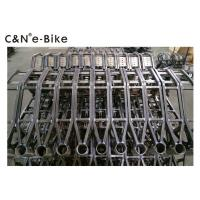 Buy cheap Carbon Steel / 6061 Aluminum Electric Enduro Bike Frame , Chromoly Mountain Bike from wholesalers