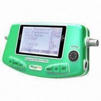 China Digital Satellite Finder with Rechargeable Battery Inside, Supports DVB-S and DVB-S2 wholesale