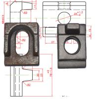 China rail clamp/clamp plate/rail clip wholesale