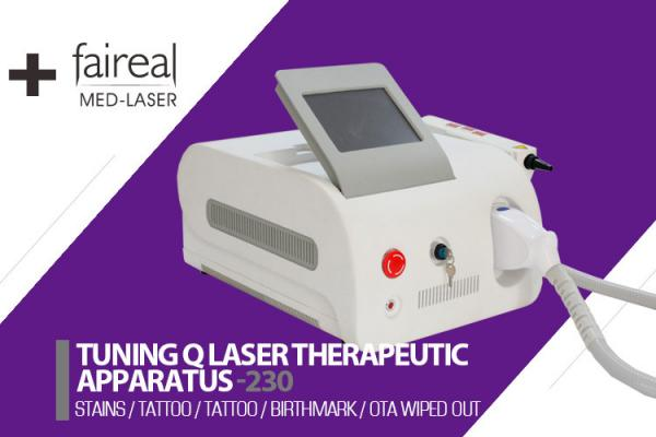 Quality Home ND Yag Laser Hair Removal Tattoo Removal Whitening Skin for sale