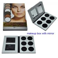 Buy cheap 6 colors Lip Palette Paper Packaging Boxes with Mirror from wholesalers