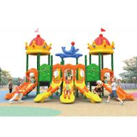 China Fashionable Commercial Playground Kids Outdoor Plastic Slide 2-11 Years Old Using on sale