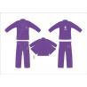 China Customerized Hemp Bjj Gi Competition Purple Brazilian Jiu Jitsu Kimono wholesale