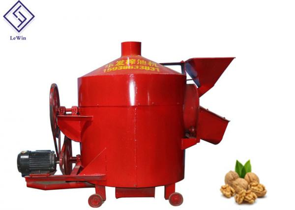 Quality Automatic Industrial Roasting Machine Walnut Seeds Roastor Large Capacity for sale