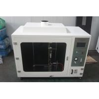 China Numerical Controlled Ul 94 Horizontal Flammability Tester With Automatic Ignition wholesale