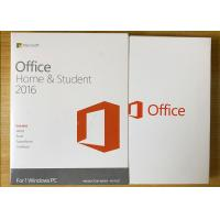 China Sealed Box Ms Office 2016 Home Product Key , Microsoft 2016 License Key For 1 PC wholesale