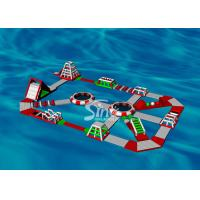 Buy cheap 30x20m Custom Design Adults Giant Inflatable Water Park For Floating On Sea from wholesalers