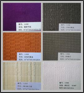 China Corduroy Velvet Fabric Window Pane Die Cut in Navy Oliver Color or Printed wholesale