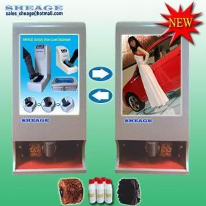 China Advertising Shoe Polisher -rolling images, Automatic Shoe Shiner, Shoe Cleaner SHE-G215(NEW) wholesale