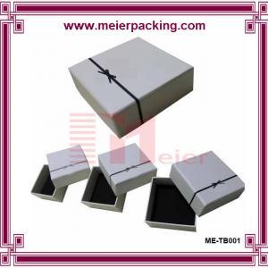 China High quality custom A5 paper gift box/Printed custom rigid jewelry paper box ME-TB001 wholesale