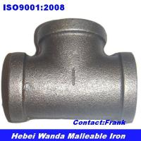 China Black malleable iron pipe fitting Tee wholesale