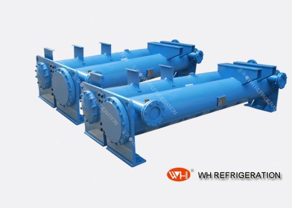 Quality Охлаженный водой более Чиллер конденсатор раковины и трубки для системы рефрижерации одиночной for sale