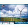 China ASTM A123 galvanizou a transmissão de aço Polos Polos galvanizados Q235 das energias eólicas wholesale