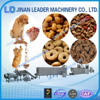 China Automatic Low consumption dog food making extruder machine for fish feed on sale