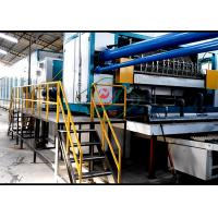 China Pulp Molding Rotary Egg Tray / Fruit Tray Forming Equipment with 6 Layers Dryer wholesale
