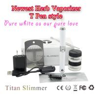 China high quality huge vapor many color titan slimmer 650mah original e cigarette starter kit wholesale