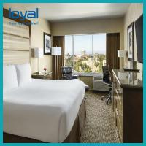 China Customized interior wall panels hotel fixed furniture wholesale