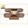 China Antique copper zinc alloy 2d concealed heavy duty door hinges wholesale