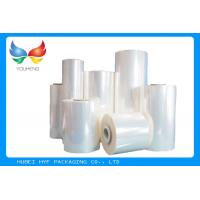 China 40 MIC Clear Blown PVC Heat Shrink Film Rolls For Shrink Sleeves wholesale