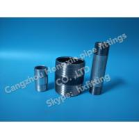 China NPT BSP thread steel pipe nipple galvanized from Cangzhou hongxin pipe fittings CO ., LTD wholesale