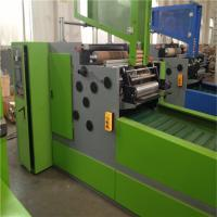 China Mitsubishi Motor Paper Rewinder Machine For Cutting Soft Temper Material wholesale