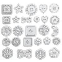 DIY bow scrapbook accessories Moon accessories Die Bow embossing file 3940