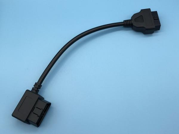 Quality OBDII OBD Port Extension Cable 16- Pin Round For Fleet Management Devices for sale