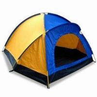 China Camping Tent for Lovers, Suitable for Two Persons, Made of 190T Polyester with PU Powder Coating wholesale