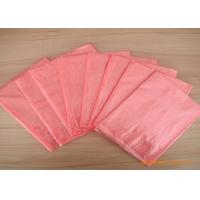 China Pink Pva Hot Water Soluble Laundry Bags For Infection Control , Eco Friendly wholesale