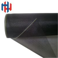 China Black color fiberglass insect screen for windows wholesale