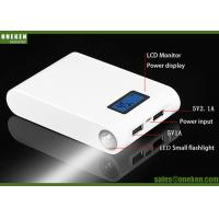 Buy cheap Dual USB LED Electric 18650 Power Bank For MP4 Players / Digital Cameras from wholesalers