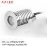 China o diodo emissor de luz moderno 1x3W DC12V de AIA waterproof a luz subterrânea conduzida do ponto do diodo emissor de luz IP67 luz exterior wholesale