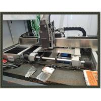 China Fiber Laser Cutter  For Stainless 1.5mm Precision Cut Glass Frame or Horn wholesale