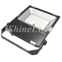 China Business Building Lighting 50W Slim Led Floodlight 4250LM with Osram Chip wholesale