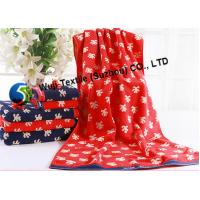 China 100% Cotton Beach Towels for Camping , Decorative Bathroom Towels wholesale