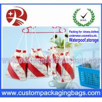 China Travel Easy To Pick Up Cloth Drawstring Bags Rope Bag Beam Pocket on sale