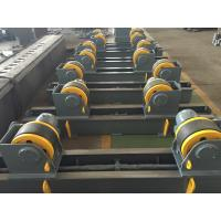 China 20t Pipe Turning Rolls Conventional Welding Rotator Drive By 1.1kw Motor Power wholesale
