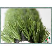 China 12 Years UV Resistant Soccer Artificial Grass 12000 Dtex With Drainage Holes wholesale