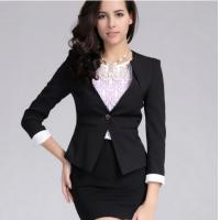 China Lady's Long sleeve Formal Suits wholesale