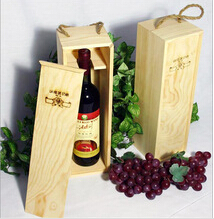 Quality Custom wooden wine box wine gift box ,wooden gift box for wine for sale