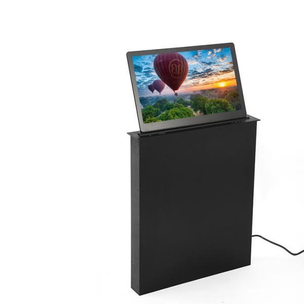 Quality 17 Inch LCD Monitor Lift Audio Conference System , Double Screen Motorized Monitor Lift for sale